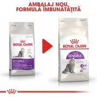 Royal Canin Sensible Adult, hrană uscată pisici, digestie optimă, 15kg