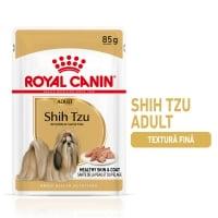 Royal Canin Shih Tzu Adult, plic hrană umedă câini, (pate), 85g