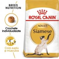 Royal Canin Siamese Adult, pachet economic hrană uscată pisici, 2kg x 2