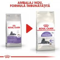 Royal Canin Sterilised 7+, hrană uscată pisici sterilizate, 1.5kg