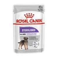 Royal Canin Sterilised Adult, bax hrană umedă câini sterilizați, (pate), 85g x 12