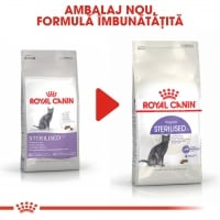 Royal Canin Sterilised Adult, pachet economic hrană uscată pisici sterilizate, 2kg x 2
