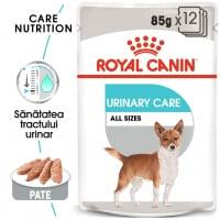 Royal Canin Urinary Care Adult, bax hrană umedă câini, sănătatea tractului urinar, (pate) 85g x 12