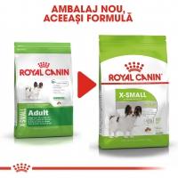 Royal Canin X-Small Adult, hrană uscată câini, 1.5kg