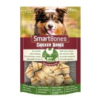 SMARTBONES Classics Chicken Bones Mini, recompense câini, Oase aromate Pui, 18buc