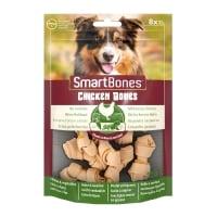 SMARTBONES Classics Chicken Bones Mini, recompense câini, Oase aromate Pui, 8buc