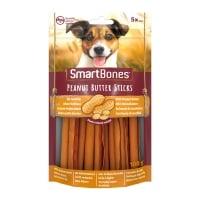 SMARTBONES Flavours Peanut Butter Sticks, recompense câini, Batoane aromate Unt de Arahide, 5buc