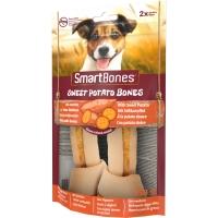 SMARTBONES Flavours Sweet Potato Bones Medium, recompense câini, Oase aromate Cartof Dulce, 2buc