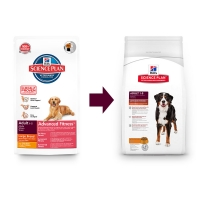 Hill's SP Canine Adult Advanced Fitness Large Breed cu Pui, 12 kg