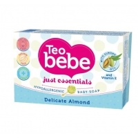 Sapun Solid Teo Bebe Delicate Almond, 75 gr