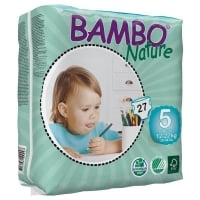 Scutece Bambo Nature ECO Junior Nr. 5, 12-22 kg, 27 buc.