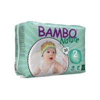 Scutece Bambo Nature ECO Mini Nr. 2, 3-6 kg, 30 buc
