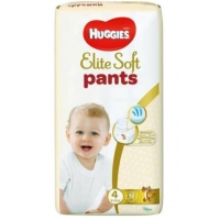 Scutece Huggies Elite Soft Pants Mega Pack 4, 9-14 Kg, 42 buc