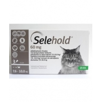 Selehold Cat 60 mg, 3 Pipete x 1 ml