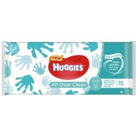 Servetele Umede Huggies Over Clean, 56 buc