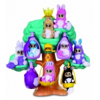 Set 6 Jucarii de Plus Golden Bear Bush Baby World