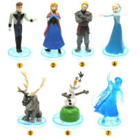 Set Figurine Tomy Disney Frozen