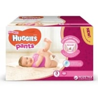 Sutece Chilotel Huggies Box 3, Girl 6-11 Kg, 88 buc