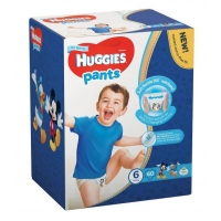 Sutece Chilotel Huggies Box 6, Boy 15-25 Kg, 60 buc