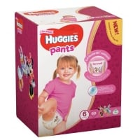 Sutece Chilotel Huggies Box 6, Girl 15-25 Kg, 60 buc