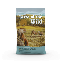 TASTE OF THE WILD Appalachian Valley Small Breed XS-M, Vânat și Miel, hrană uscată fără cereale câini, 2kg