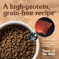 TASTE OF THE WILD Canyon River, Păstrăv și Somon, hrană uscată fără cereale pisici, 6.6kg