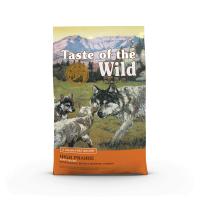 TASTE OF THE WILD High Prairie Puppy, Bizon și Vânat, pachet economic hrană uscată fără cereale câini junior, 2kg x 2