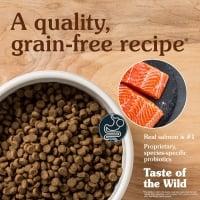 TASTE OF THE WILD Pacific Stream Puppy, Somon, hrană uscată fără cereale câini junior, 12.2kg