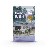 TASTE OF THE WILD Sierra Mountain, Miel, pachet economic hrană uscată fără cereale câini, 2kg x 2