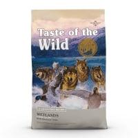 TASTE OF THE WILD Wetlands, Rață, hrană uscată fără cereale câini, 2kg
