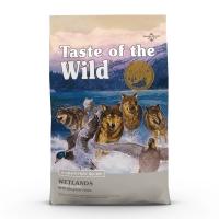 TASTE OF THE WILD Wetlands, Rață, pachet economic hrană uscată fără cereale câini, 2kg x 2