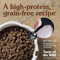 TASTE OF THE WILD Wetlands, Rață, hrană uscată fără cereale câini, 12.2kg