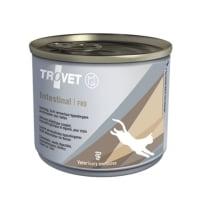 TROVET Cat Intestinal FRD, dietă veterinară pisici, conservă hrană umedă, afecțiuni intestinale, (pate), 190g
