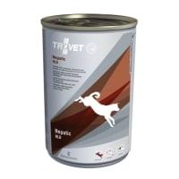 TROVET Dog Hepatic HLD, dietă veterinară câini, conservă hrană umedă, afecțiuni hepatice, (pate), 400g