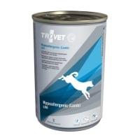 TROVET Dog Hypoallergenic LRD, Miel, dietă veterinară câini, conservă hrană umedă, afecțiuni digestive și dermatologice, (pate), 400g
