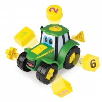 Tractor Tomy Cu Forme Si Cifre