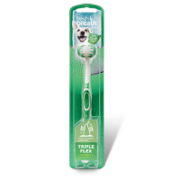 Triple Flex Toothbrush TropiClean For Dogs L