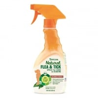Tropiclean Flea and Tick Spray for Pets, 473 ml