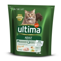 ULTIMA Cat Adult, Pui, hrană uscată pisici, 800g