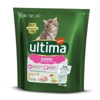 ULTIMA Cat Junior, Pui, hrană uscată pisici junior, 400g