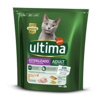 ULTIMA Cat Sterilised Adult, Pui, hrană uscată pisici sterilizate, 800g