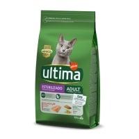 ULTIMA Cat Sterilised Adult, Somon, hrană uscată pisici sterilizate, 1.5kg