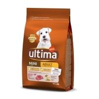 ULTIMA Dog Mini Adult, Vită, hrană uscată câini, 1.5kg
