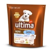 ULTIMA Dog Mini Junior, Pui, hrană uscată câini, 800g