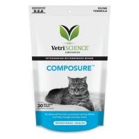 VETRI SCIENCE Composure Felline, Bite-sized Chews, suplimente calmante pisici, 30cpr masticabile