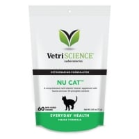 VETRI SCIENCE Nu-Cat, Bite-sized Chews, multivitamine pisici, 30cpr masticabile