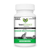 VETRI SCIENCE Nu-Cat Senior, multivitamine pisici senior, 100tbl masticabile