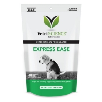 VETRI SCIENCE Vetri Express Ease, Bite-sized Chews, suplimente digestive câini, 40cpr masticabile