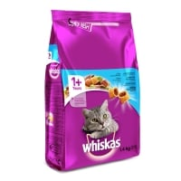 WHISKAS Adult, Ton, hrană uscată pisici, 1.4kg