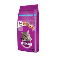 WHISKAS Adult, Ton, pachet economic hrană uscată pisici, 14kg x 2